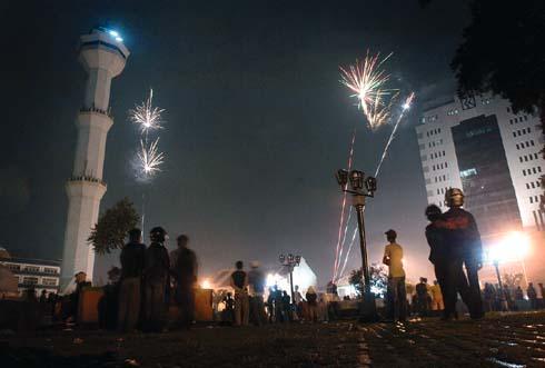 perayaan Malam Tahun Baru